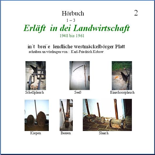 Kobow :: Plattdeutsche Hörbücher